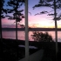 Sunrise over Quadra Island
